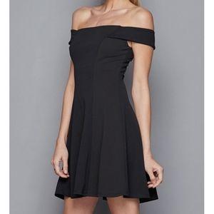 ⭐NEW Off Shoulder A-Line Black Cocktail Dress 15